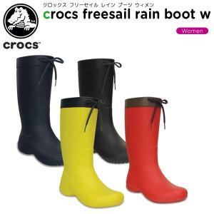 クロックス crocs クロックス フリーセイル レイン ブーツ ウィメン crocs freesa...