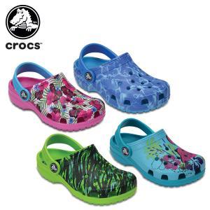 クロックス(crocs) クラシック グラフィック クロッグ...