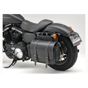 デイトナ バイク用 アメリカンサドルバッグ 15L 92382/汎用