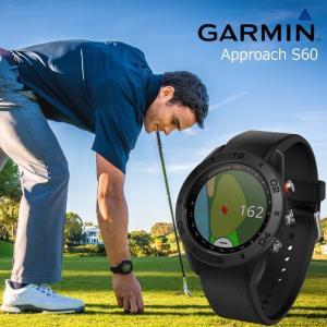 ガーミン GARMIN 正規品 Approach S60 Black ゴルフナビ 腕時計 アプローチ エス60 ブラック ゴルフウォッチ スマートウォッチ 010-01702-20|cross9