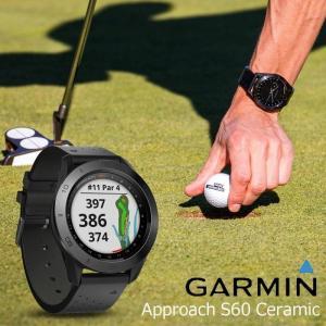 ガーミン GARMIN 正規品 Approach S60 ceramic ゴルフナビ 腕時計 アプローチ エス60 セラミック ブラック ゴルフウォッチ スマートウォッチ 010-01702-22|cross9