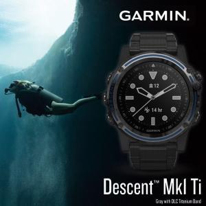 ガーミン GARMIN 正規品 Descent Mk1 Ti 腕時計 ディーセントマークワン チタニ...