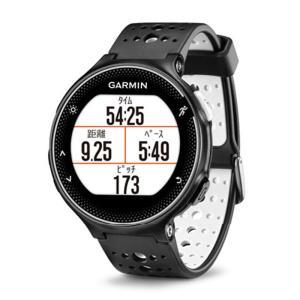 ガーミン GARMIN 正規品 ForeAthlete230J Black White スマートウォッチ 腕時計 フォーアスリート230J ランニングウォッチ ブラック ホワイト 010-03717-87|cross9