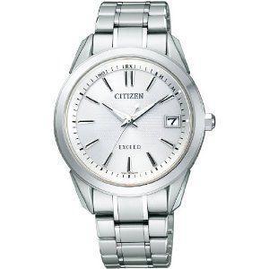 シチズン CITIZEN エクシード EXCEED ソーラー メンズ 腕時計 as7030-52a シルバー ホワイト 白 おしゃれ ポイント消化 cross9