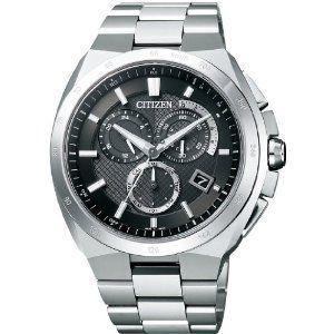 シチズン CITIZEN アテッサ ATTESA エコ・ドライブ電波 時計 メンズ 腕時計 at3010-55e シルバー ブラウン おしゃれ ポイント消化 cross9