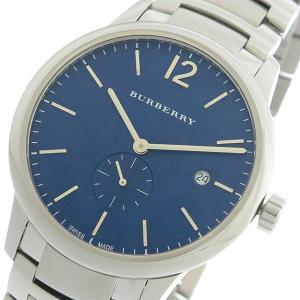 バーバリー BURBERRY クオーツ メンズ 腕時計 BU10007 ネイビー/シルバー ポイント消化 cross9