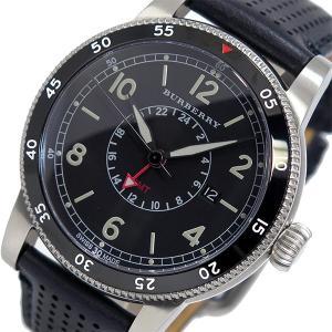バーバリー BURBERRY ユティリタリアン クオーツ メンズ 腕時計 BU7854 ブラック ポイント消化 cross9