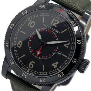 バーバリー BURBERRY ユティリタリアン クオーツ メンズ 腕時計 BU7855 ブラック ポイント消化 cross9