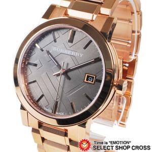 BURBERRY バーバリー メンズ 腕時計 ウォッチ アナログ シティ ステンレス ブロンズ ピンクゴールド BU9005 おしゃれ ポイント消化 cross9
