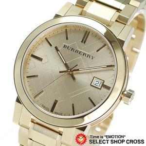 BURBERRY バーバリー 腕時計 ウォッチ アナログ BU9033 ユニセックス メンズ レディース シティ ゴールド おしゃれ ポイント消化 cross9