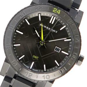 バーバリー BURBERRY クオーツ メンズ 腕時計 BU9340 チャコールグレー ポイント消化 cross9