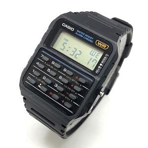 チプカシ 安い かわいい チープカシオ CASIO カシオ 腕時計 データバンク 海外モデル カリキュレーター CA-53W-1ZD ブラック 黒 おしゃれ ポイント消化 あすつく|cross9