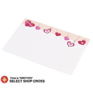 ギフトカード ハート柄 ちょっとしたメッセージにもお使い頂けます★ ピンク系 ポイント消化 cross9