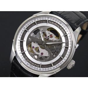 ハミルトン HAMILTON ジャズマスター ビューマチック スケルトン メンズ 腕時計 H4255...