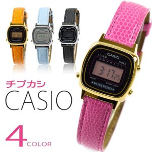 CASIO カシオ レディース 腕時計 ウォッチ デジタル カジュアル チプカシ チープカシオ LA670WEGL LA670WEL 選べる4カラー