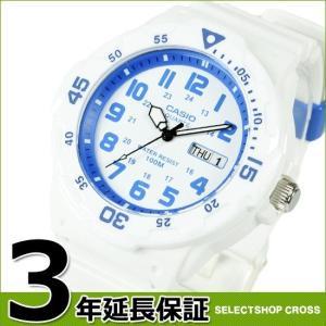 チプカシ チープカシオ カシオ CASIO メンズ 腕時計 アナログ スポーツ ホワイト×ブルー MRW-200HC-7B2