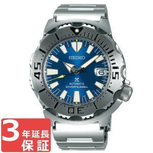 【3年保証】  セイコー SEIKO モンスター MONSTER プロスペック PROSPEX ダイバーズ ネット限定 自動巻き メンズ 腕時計 SBDC067 ブルー シルバー あすつく|cross9