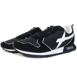 ウィズ W6YZ JET ローカット スニーカー シューズ イタリア 靴 メンズ JUST SAY WIZZ 2019SS 1A06 ブラック 41 42 43|cross9