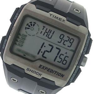 タイメックス TIMEX エクスペディション グリッドショック クオーツ メンズ 腕時計 TW4B02500 グレー/ブラック 海外輸入品 ポイント消化 あすつく|cross9