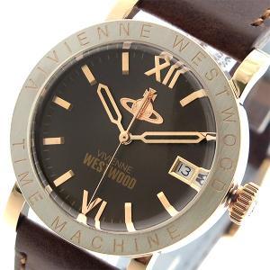 ヴィヴィアン ウエストウッド Vivienne Westwood 腕時計 メンズ レディース ユニセックス VV203BRBR クオーツ ブラウン|cross9