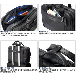 ビジネスリュックサック アルファインダストリーズ ビジネス トートバッグ リュック 3way ブリーフケース メンズ 大容量 ショルダーバッグ 軽量|crosscharm|06