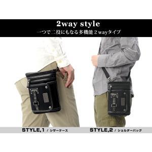 シザーケース シザーバッグ メンズ DEVICE フォルマ 2way ショルダーバッグ ウエストバッグ デバイス 帆布 かばん|crosscharm|03