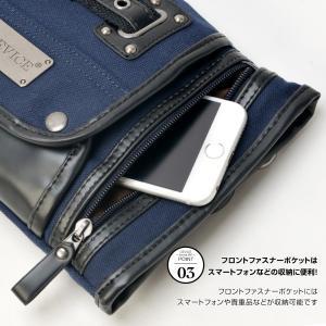 シザーケース シザーバッグ メンズ DEVICE フォルマ 2way ショルダーバッグ ウエストバッグ デバイス 帆布 かばん|crosscharm|07