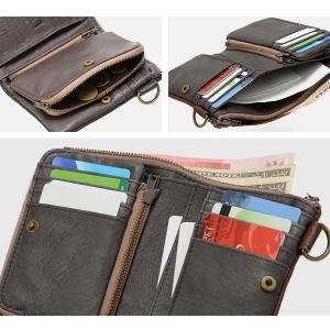 財布サイフさいふ/財布メンズ/牛革 札入れ/二つ折り財布/財布メンズ財布|crosscharm|06