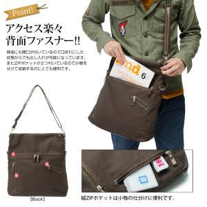 ショルダーバッグ メンズ メッセンジャーバッグ レディース 鞄 メッセンジャー 帆布 かばん|crosscharm|18