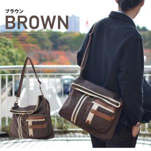 ショルダーバッグ メッセンジャーバッグ 口折れ 斜めがけ バック メンズ DEVICE かばん 鞄 帆布バッグ|crosscharm|05