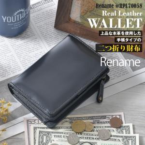 折財布 メンズ 二つ折り財布 本革 レザー ビジネス 手帳型 シンプル サイフ|crosscharm