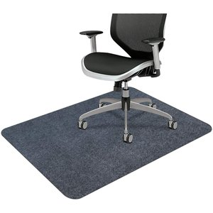 デスク チェアマット ずれない フローリング 椅子 床 保護マット 傷防止 滑り止め 丸洗い可能 カ...