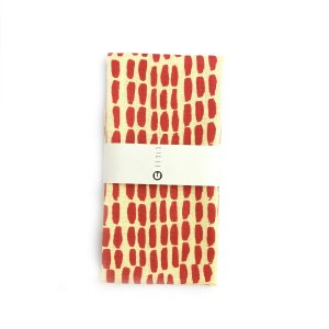キッチンタオル キッチンクロス ふきん ランチョンマット ギフト フィンランド 北欧 デザインLilli U キッチンタオル(リネン)「ブラッシュ」|crossed-lines
