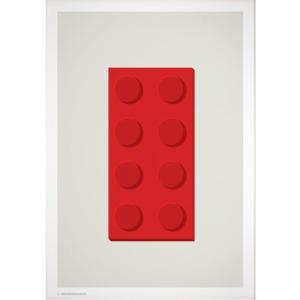 Wonderhagen ポスター「Lego」|crossed-lines