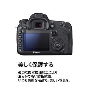 クロスフォレスト Canon EOS 7D Mark II / EOS 6D 用 液晶保護 ガラスフィルム crossforest 02