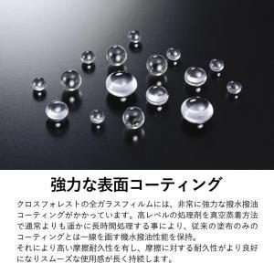クロスフォレスト iPod touch 6(5)世代用ガラスフィルム (日本製ガラス採用)  ホームボタンカバー(白/黒)付き ラウンドタイプ CF-GHIPT5|crossforest|04