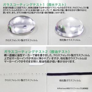 クロスフォレスト iPod touch 6(5)世代用ガラスフィルム (日本製ガラス採用)  ホームボタンカバー(白/黒)付き ラウンドタイプ CF-GHIPT5|crossforest|05
