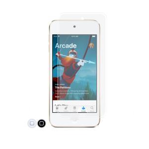 クロスフォレスト iPod touch 6(5)世代用 液晶保護 ガラスフィルム アンチグレア ホームボタンカバー付|crossforest