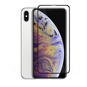 クロスフォレスト iPhoneXsMax用 液晶保護 ガラスフィルム crossforest