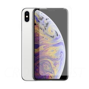 クロスフォレスト iPhoneXsMax用 液晶保護 ガラスフィルム アンチグレア|crossforest