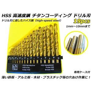 ■より高速での金属材料の切削を可能にする工具の材料とするべく開発されたHSS 高速度鋼製のチタンコー...