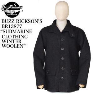 "BUZZ RICKSON'S BR13877 ""SABMARINE CLOTHING WINTER WOOLEN"" crossover-co"