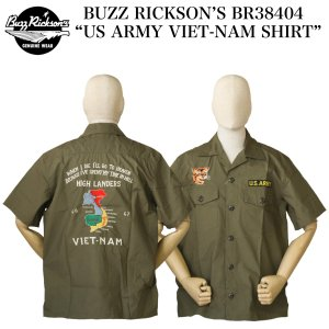 "BUZZ RICKSON'S BR38404 ""US ARMY VIET-NAM SHIRT"" crossover-co"