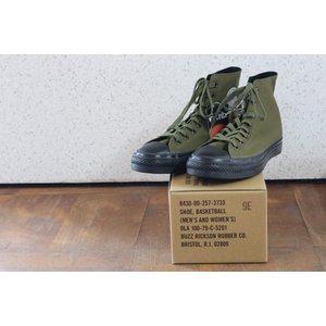 BUZZ RICKSON'S バズリクソンズ BR02577 SHOE, BASKETBALL HIGH-CUT MODEL VENTILE FABRIC crossover-co