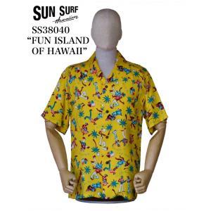 "SUN SURF サンサーフ SS38040 ""FUN ISLAND OF HAWAII"" crossover-co"
