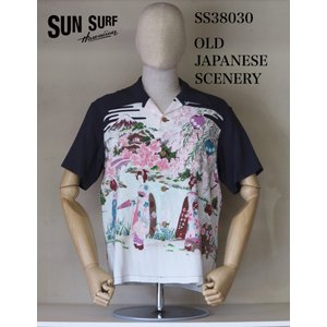 SUN SURF サンサーフ SS38030「OLD JAPANESE SCENERY」 crossover-co