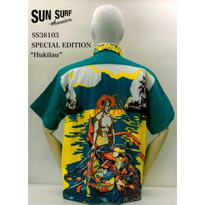 """SUN SURF サンサーフ SS38103 """"Hukilau"""" SPECIAL EDITION ROSS SUTHERLAND BY SUN FASHIONS crossover-co"""