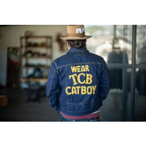 """TCB jeans """"WEAR YOUR CAT BOY JKT""""