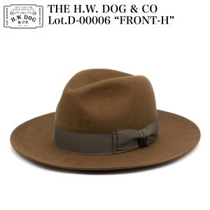 """THE H.W. DOG & CO D-00006 """"FRONT-H""""