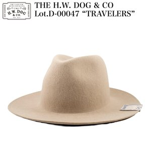"""THE H.W. DOG & CO D-00047 """"TRAVELERS""""